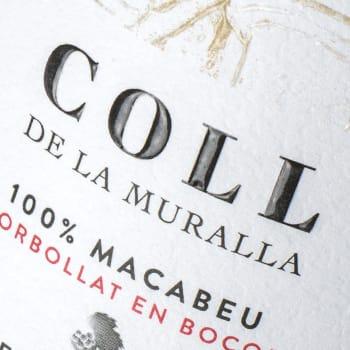 Disseny etiquetes vins Coll