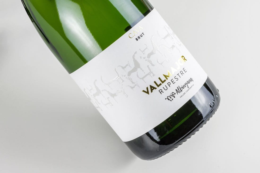 Disseny Cava Vallmajor Brut