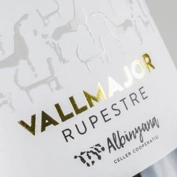Disseny etiquetes cava Vallmajor